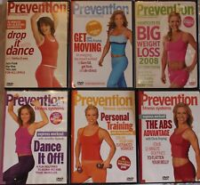 6 Prevention workout exercise fitness DVD lot Abs Advantage Personal Training