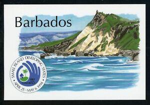Barbados OS #4 POSTCARD Small Island Development Conference $$