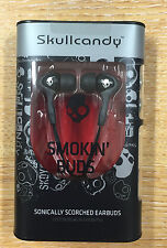Skullcandy Smokin Buds In-ear Solo Auriculares Ipod Iphone Android Negro Nuevo