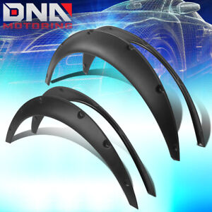 """1.8""""F/2.5""""R PAINTABLE POCKET-RIVETED FENDER FLARE FOR MOST REAR WHEEL DRIVER CAR"""