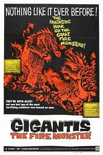 "Gigantis The Fire Monster Sci-Fi Movie Poster 12"" x 18"""