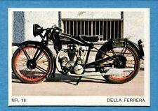 MOTO - Ed. Raf - Figurina/Sticker n. 18 - DELLA FERRERA -Rec