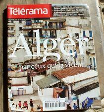 *TELERAMA 07/2011*  ALGER par ceux qui la vivent  + CY TWOMBLY + MICHEL SERRES