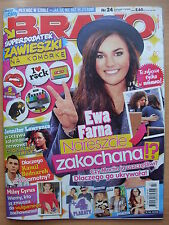 BRAVO 24/2013 EWA FARNA,Ellie Goulding,Lady Gaga,Jennifer Lawrence,Ross Lynch