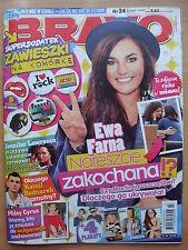 BRAVO 24/2013 EWA FARNA,Ellie Goulding,Lady Gaga,Jennifer Lawrence,Ross Lynch