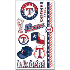 Texas Rangers Temporary Tattoos