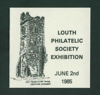 1985  IRELAND DX55  LOUTH  EXHIBITION  BOOKLET - SCARCE - EXCELLENT
