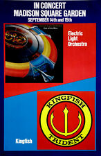 Electric Light Orchestra ELO Kingfish Vintage Original Promo Poster 1978