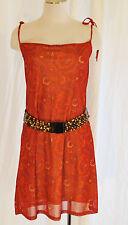 VTG Aziz 80-90s M Paisley BoHo Hippie Sheer Layered Convertible Skirt or Dress
