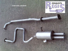 NISSAN FIGARO EXHAUST SYSTEM 1.0 TURBO 1991> MA10ET FK10 DN665E DN666D