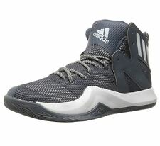 adidas Crazy Bounce US 10 M Grey Synthetic Basketball Sneakers Mens Shoes $110