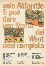 X9135 Atlantic - Outlaws and Sheriffs Far-West Story - Pubblicità 1977 - Advert.