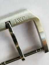 IWC Schaffhausen Buckle Clasp 18 mm Eg Aquatimer, Pilot or Ing. Steel Matt