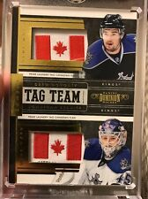 2011/12 Dominion Gold #1/1 Drew Doughty Jonathan Bernier Made In Canada Tags