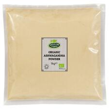 Organic Ashwagandha Powder 1kg Certified Organic