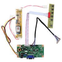 "VGA LCD Controller Board Work For 12.3"" LQ123K1LG03  1280x480 LCD Screen"