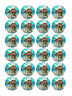 24 x Large Moana Edible Cupcake Toppers Birthday Party Cake Decoration