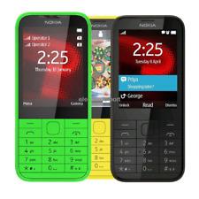 "Original Nokia 225 Unlocked 2.8"" Dual SIM English Hebrew Keyboard Phone Unlocked"