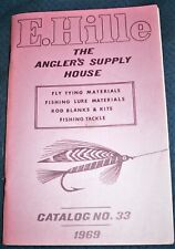 2 E. Hille Fly Tying & Fly Fishing Catalogs Williamsport Pa Anglers Supply House