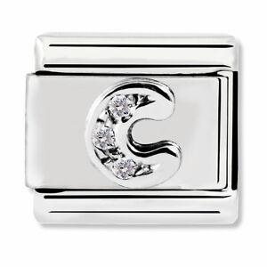 GENUINE Nomination Classic Silver Letter C CZ Charm 330301/03 / £20 RRP