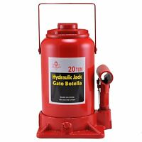 20 Ton Hydraulic Bottle Jack | Heavy Duty 40,000 LBS Auto Contruction