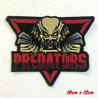 Alien vs Predators Badge Iron on Sew on Embroidered Patch #1738
