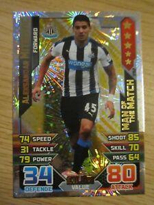 Match Attax 2015/16 MOTM card - Aleksandar Mitrovic of Newcastle United