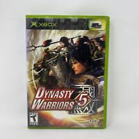 Dynasty Warriors 5 (Microsoft Xbox, 2005) Complete Tested Working