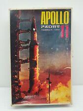 TOHO JPM '69 Apollo 11 Saturn 5 Rocket Vintage Plastic Model Kit Man on Moon