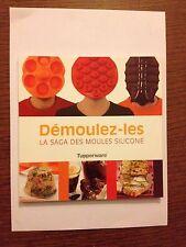 """LIVRE DE RECETTES """"DEMOULEZ-LES """" TUPPERWARE"""