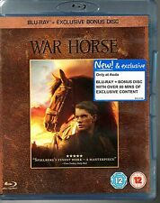 War Horse Blu Ray + Bonus Disc Asda Exclusive Limited Edition Steven Spielberg