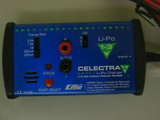 E-FLITE CELECTRA LI-PO CHARGER 1-3 CELL LITHIUM POLYMER BATTERY CHARGER