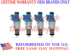 OEM Siemens Fuel Injector Set FITS 2003-2005 SAAB 9-3