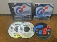 Gran Turismo 1 2 Bundle - Sony Playstation 1 PS1 - PAL - Tested!