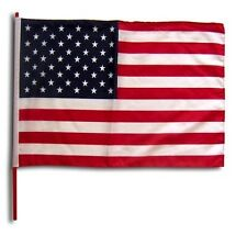 Small 12 Inch X 20 Inch Replacement U.S.A. Flag For Whip Antenna