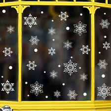Snowflake Decor Christmas Wall Sticker Home DIY Decals For Door And Window SALE
