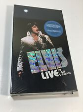 Elvis Live In Las Vegas (4) Cassette Box Set With Booklet Photos Very Rare New