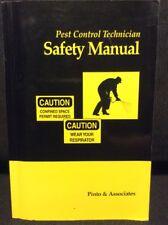 Pest Control Technician Safety Manual Lawrence Pinto Sandra Kraft Pesticides