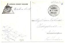 NED INDIE DUTCH INDIES 1946 =VELDPOST BANDOENG 1= BK DIENST WELFARE  VW PR