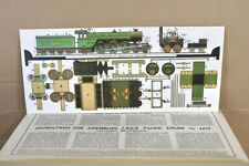IAN ALLAN SCALE MODEL SHEET LNER 4-6-2 FLYING SCOTSMAN LOCOMOTIVE CARD KIT ny