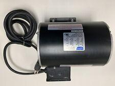 Viking Pump Electric Motor W/ Toggle Switch & Cord 120V 1/3HP 1425/1725 RPM 1PH
