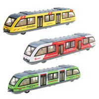 Simulation Ally Pull Back Music City City Rail Transit Trolley Bus Vehicles Toy