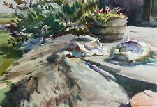 Howard J. Morgan - 1999 Watercolour, Sawfish, U.S.A.
