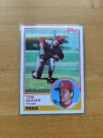 1983 Topps #580 Tom Seaver HOF Cincinnati Reds New York Mets Centered NM/MT+