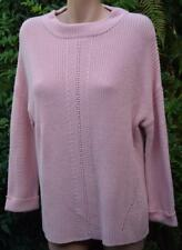 SUSSAN Petal Pink Loose Fit TOP/Jumper SIZE XL-18 Cotton Blend. NEW RRP$89.95