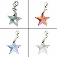 FASHIONS FOREVER® SterlingSilver Star-Crystal Charm made with SWAROVSKI® Crystal