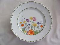 Denby Limoges France -English Garden Scalloped Edge - Dinner Plate(s)- 7 Avail