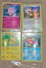 Pokemon 20th Anniversary Toys R Us Promo Cards Pikachu Meowth Clefairy Magikarp