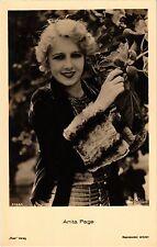 Anita Page CPA Film Stars (326732)