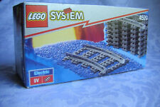 Lego 9V Train System Curved Tracks (4520) - New! Sealed  Year: 1992,1999